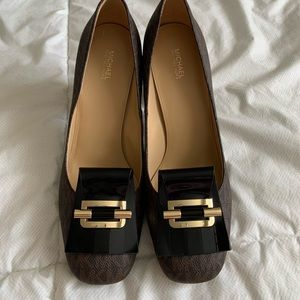 MK heels 10 women's